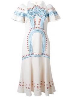 Temperley London Juniper Cream Dress RPP 1135