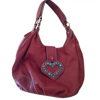 Moschino Cheap And Chic Red Tote