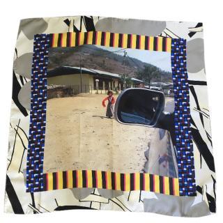 Marni silk square scarf