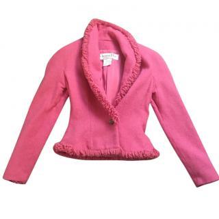 Christian Dior Pink Jacket