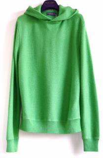 Ralph Lauren Purple Label cashmere hooded pullover jumper