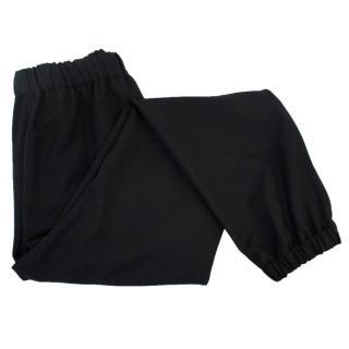 Lanvin Black Elasticated Trousers