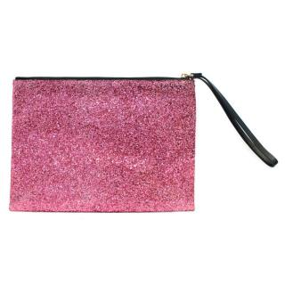 Marni Pink Glitter Clutch