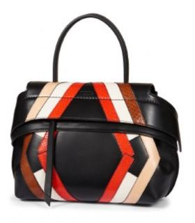 Tods Argyle Leather and Python Bag