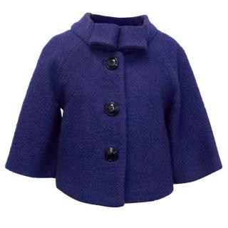 By Malene Birger Blue Cropped Jacket