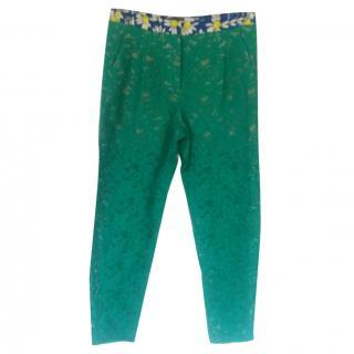 Max Mara Sportmax Green Trousers