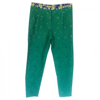 Max Mara Sportmax Green Trousers