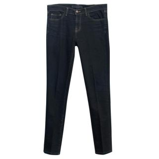 J Brand Black Straight Jeans