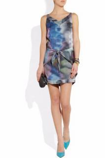 Theyskens' Theory Damara printed silk mini dress