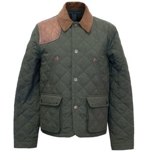 Ralph Lauren Khaki Quilted Jacket