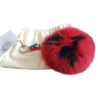 Fendi Fox Fur Pom Pom Charm
