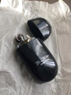 Tiffany & Co Elsa Peretti Black Lacquer Bean Lighter