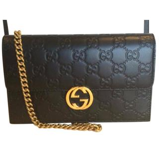 Gucci Icon Guccissima Wallet on Chain