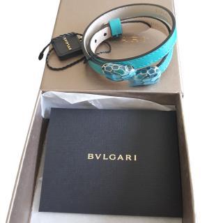 Bvlgari double snake head bracelet