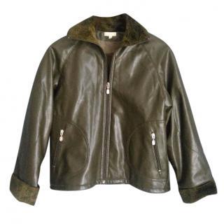 Guy Laroche Olive Green Jacket