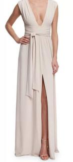 Halston Heritage Cream gown