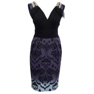 Matthew Williamson Multicolour Ombre Embellished Dress