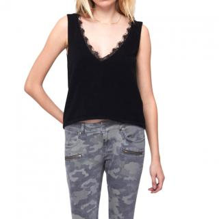 Anine Bing Knit top with lace