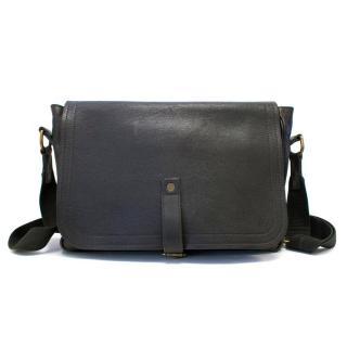 Louis Vuitton Men's Brown Leather Messenger Bag