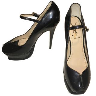 Yves Saint Laurent Tribute patent-leather Mary Jane