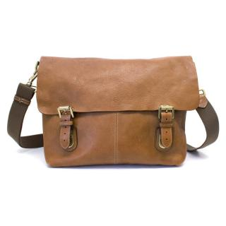 Mulberry Men's Tan Leather Messanger Bag