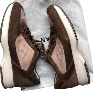 Hogan Brown Trainers