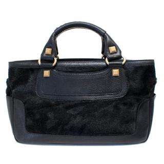 Celine Black Ponyhair Boogie Bag