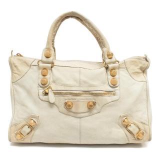 Balenciaga Beige City Bag