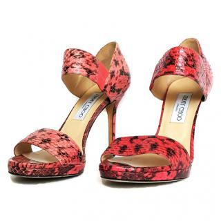 Jimmy Choo Pink Heels