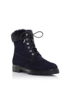 Aquazzura Blue Heilbrunner Boots
