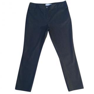 Pringle dark indigo blue crop slim fit stretchy high waist jeans