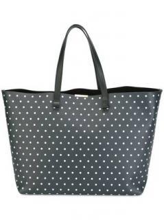 Victoria Beckham Simple Shopper Polka Dot Bag
