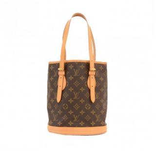 Louis Vuitton Bucket PM Monogram Shoulder Bag 10371