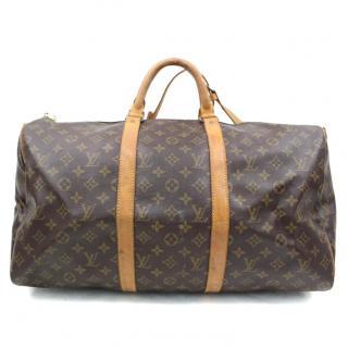 Louis Vuitton Keepall 50 Bandouliere Boston Travel Bag 10364