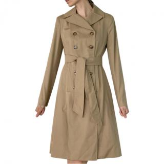 D&G beige double-breasted trench