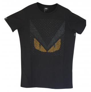 BNWT Fendi T-shirt w/swarowski crystals S (19 x 27 inches)