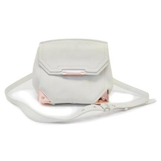 Alexander Wang 'Prisma' White Leather Crossbody Bag