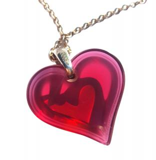 Lalique Heart With Tiffany Chain