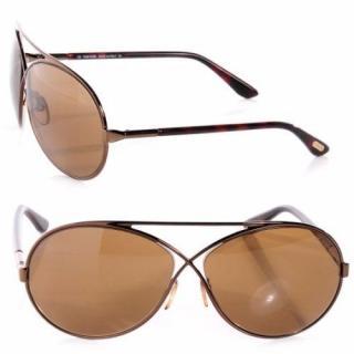 Tom Ford  Georgette Aviator Sunglasses