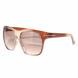 Tom Ford Federico TF188 Pink/Brown Unisex Sunglasses