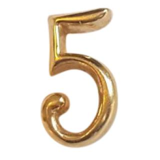Lulu Frost Lucky Number 5 Earring 14ct Gold