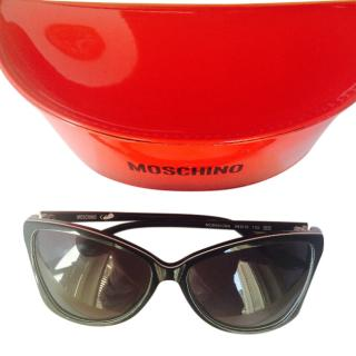 Moschino chequered sunglasses