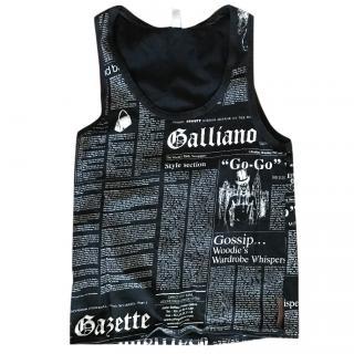 Galliano Printed Top