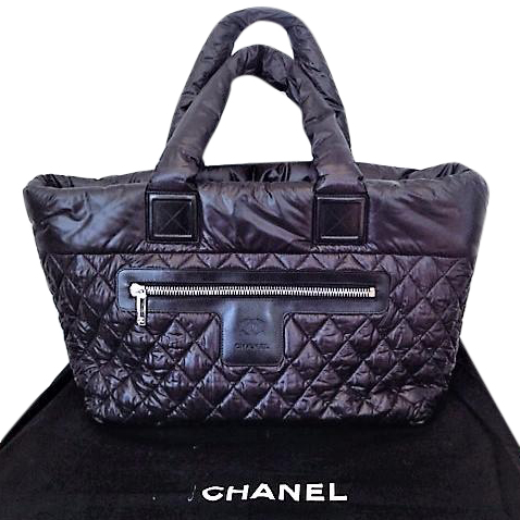 35c1319fe4fb Chanel Cocoon Black Quilted Tote Bag103636