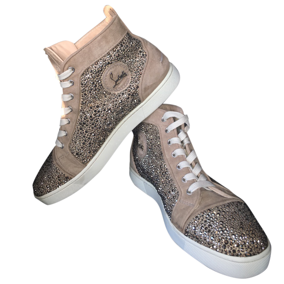 reputable site 3efb4 1f87b Christian Louboutin Men's Strass Sneakers