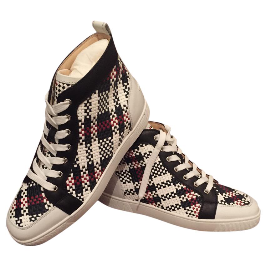 7e2963d5f6d Christian Louboutin Mens High Top Sneakers