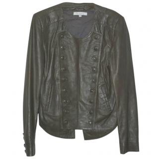 Sandro Buttersoft Leather Jacket (Size 2)