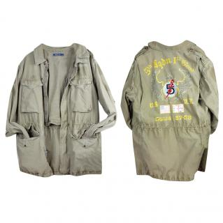 Polo Ralph Lauren Twill Combat Military Jacket
