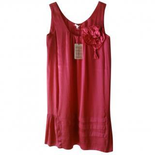 P.A.R.O.S.H Pink Dress Silk