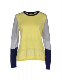 Cut25 Colorblock Long Sleeve Sweater